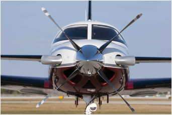 Piper PA46 Meridian with a Hartzerl 4 Blade Propeller