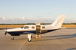 Your Piper PA46 Mirage awaits you on the ramp. This cabin class beauty is the pinnacle of personal aircraft